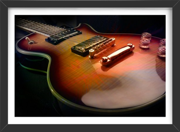 Quadro guitar arte nobre presentes criativos exclusivos