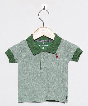 b2833a2b38 Polo Reserva Mini Verde Bandeira - Alecrim - A loja online de moda ...
