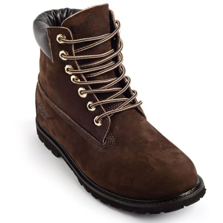 Bota Drump Tipo Timberland Yellow Boot Masculina/feminina Marron Brown