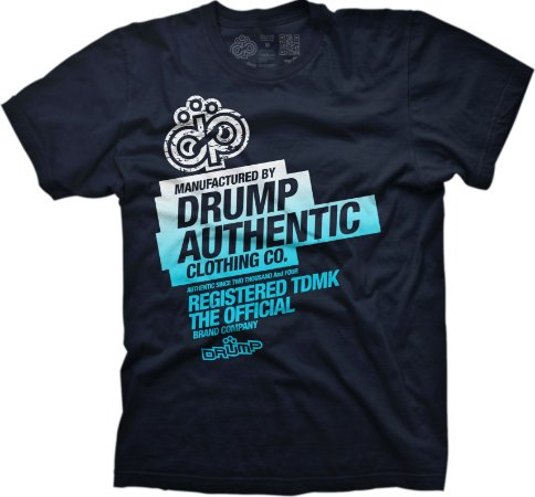 Camiseta Large Drump Masculina DRUMP AUTHENTIC