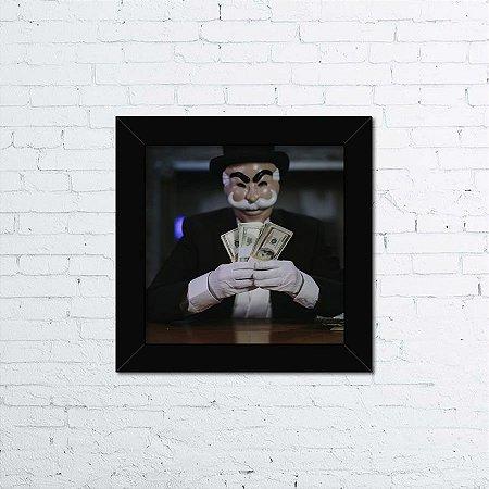 Quadro Mr. Robot Mask