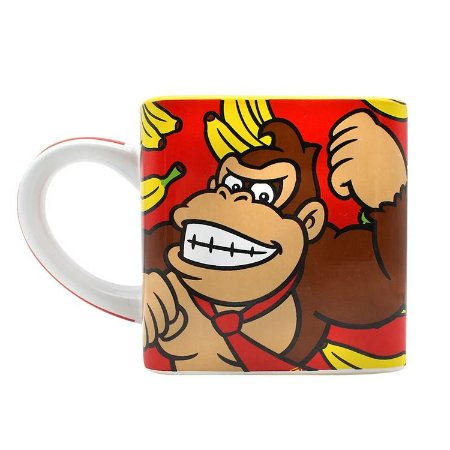 Caneca Quadrada Donkey Kong