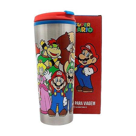 Copo Gamer Turma Super Mario
