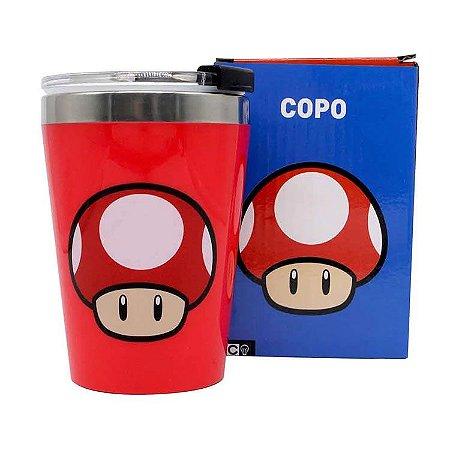 Copo Gamer Mushroom Red