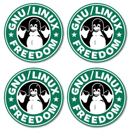 Kit porta-copos GNU / Linux Freedon