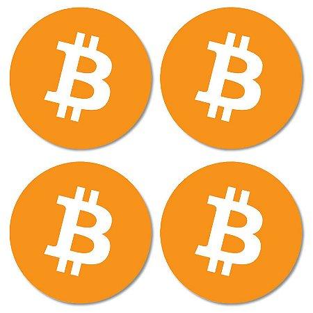 Kit porta-copos Bitcoin