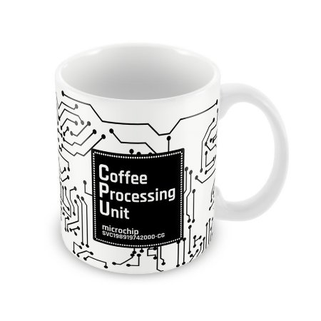 Caneca CPU Coffee Processing Unit