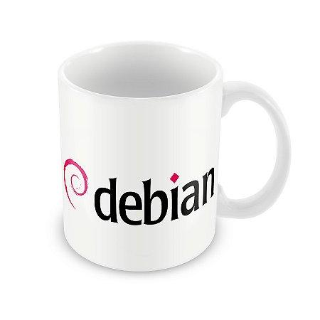Caneca Debian Linux