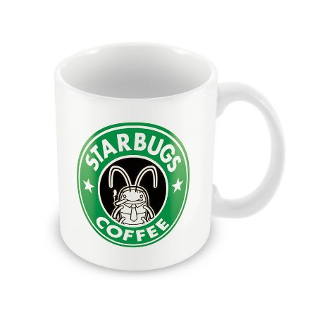 Caneca StarBugs Coffee