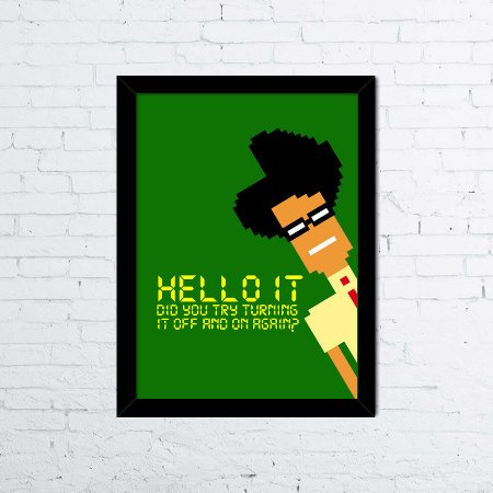 Quadro Maurice Moss - The IT Crowd