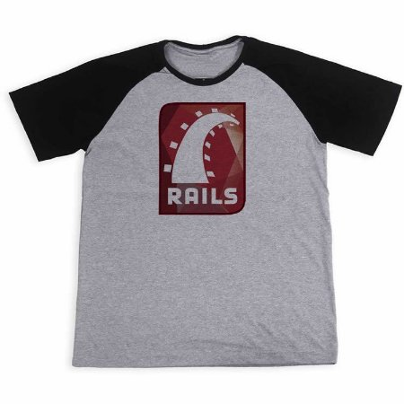Camisa Raglan Ruby on Rails