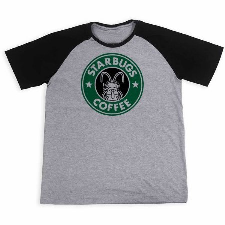 Camisa Raglan Starbugs Coffee