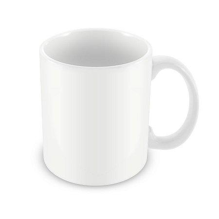 Caneca personalizada branca - Personalize a sua