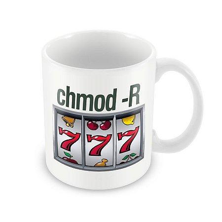 Caneca Chmod 777