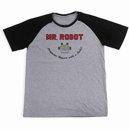 Camisa Raglan Mr. Robot