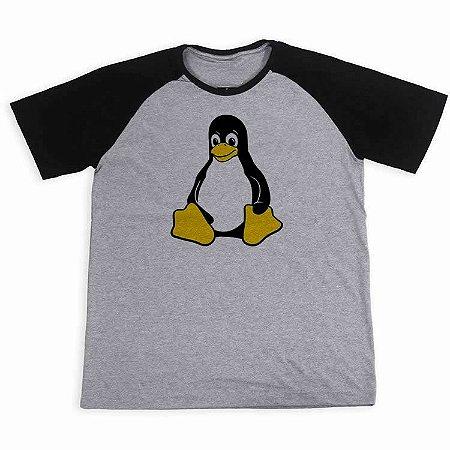 Camisa Raglan Tux Linux