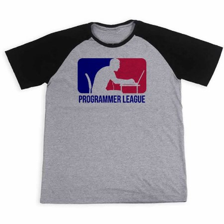 Camisa Raglan Programmer League