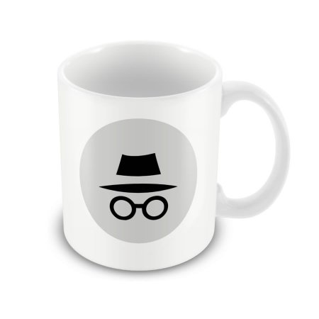 Caneca Anonymous Google Chrome Tab