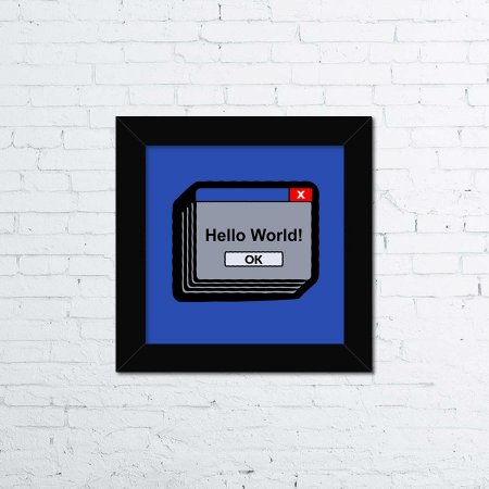 Quadro Hello World