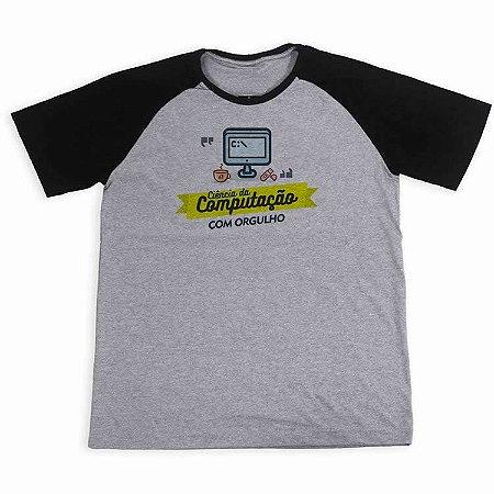 Camisa Raglan Ciência da computação