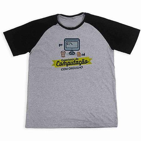 Camisa Raglan Engenharia da Computação