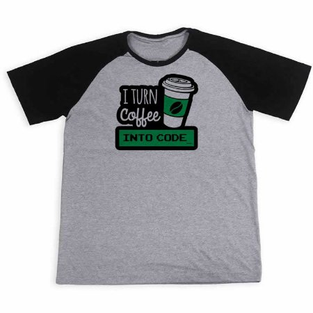 Camisa I Turn Coffee Into Code