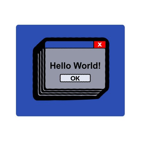 Mouse Pad Hello World!