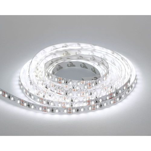 Fita LED 12v ip20 2835 120 led 6000k - rolo 5 metros. (2916)