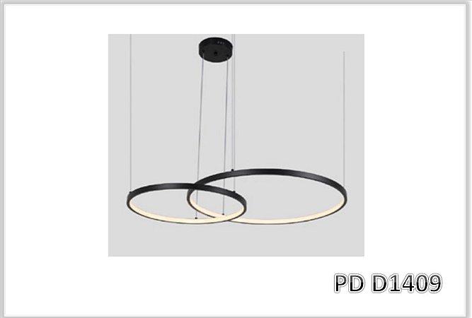PD D1409 - Pendente Led 2.Mod. DAIRE 3000K