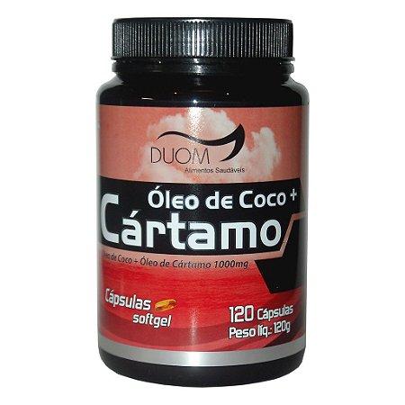Óleo de Cártamo c/ Óleo de Coco 120cps 1000mg Duom