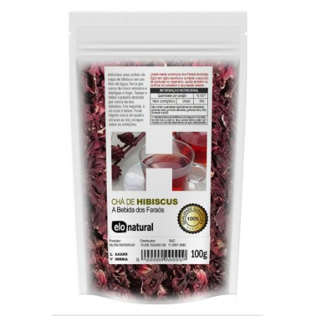 Chá de Hibisco 100g (Hibiscus)
