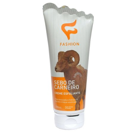 Creme Sebo de Carneiro Esfoliante 200ml Fashion