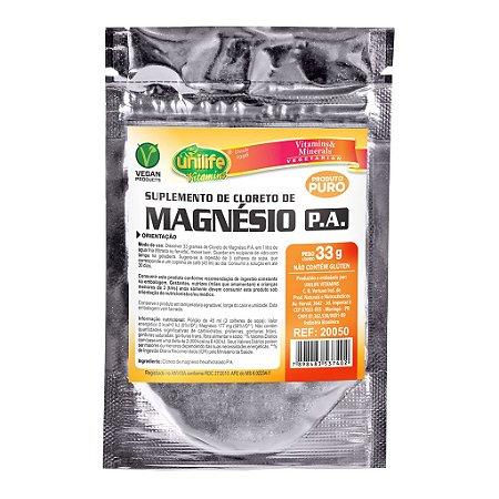 Cloreto de Magnésio PA Sachê 33g Unilife