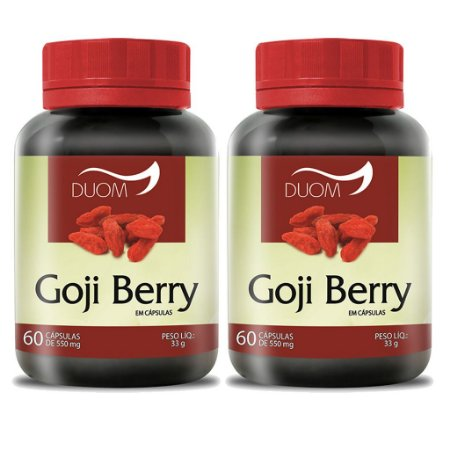Kit 2 Und Goji Berry 60cps 550mg Duom