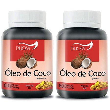 Kit 2 Und Óleo de Coco 60cps 1000mg Duom