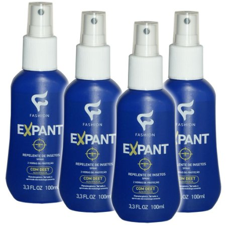 Kit 4 Und Expant Repelente de Insetos Spray 100ml Fashion