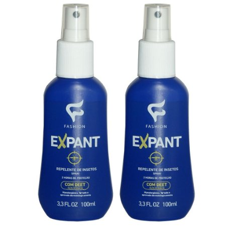 Kit 2 Und Expant Repelente de Insetos Spray 100ml Fashion