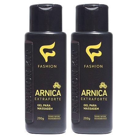 Kit 2 Und Gel para Massagem Arnica Extra Forte 200g Fashion