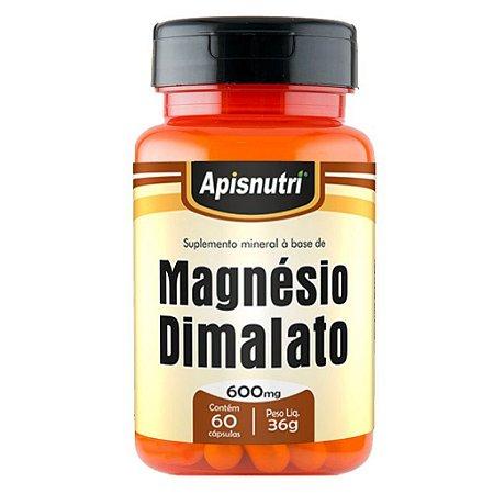 Magnésio Dimalato 60cps 600mg
