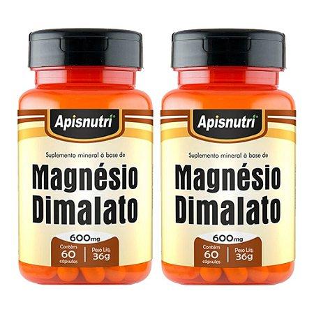 Kit 2 Und Magnésio Dimalato 60cps 600mg