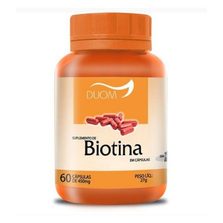 Biotina 60cps 450mg