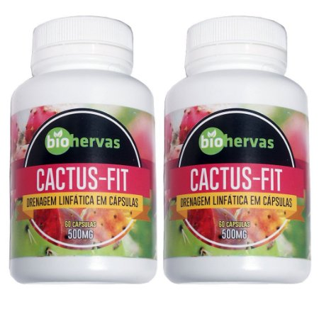 Kit 2 Und Cactus-Fit 60cps 500mg