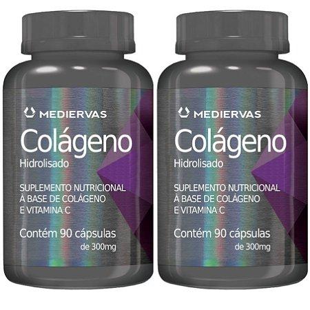 Kit 2 Und Colágeno e Vitamina C 90cps 300mg