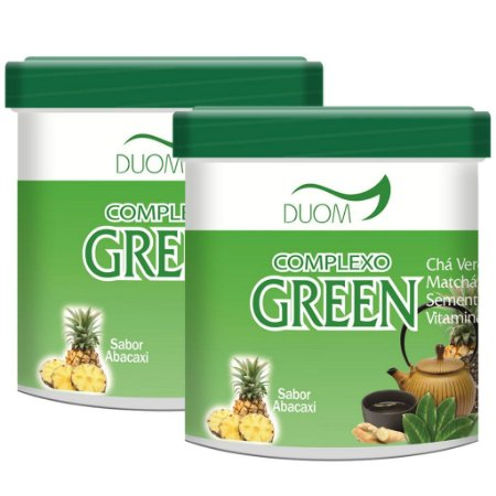 Kit 2 Und Complexo Green 200g Duom Sabor Abacaxi