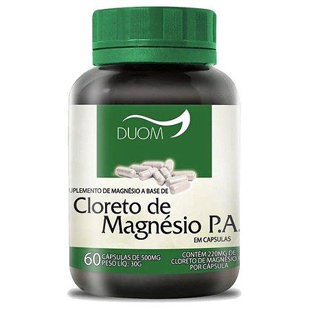 Cloreto de Magnésio P.A. 60cps 500mg Duom