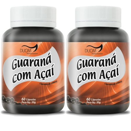 Kit 2 Und Guaraná c/ Açaí 60cps 500mg