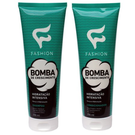 82ad82e98 Kit Bomba de Crescimento Fashion (Shampoo 250ml e Condicionador 250ml)