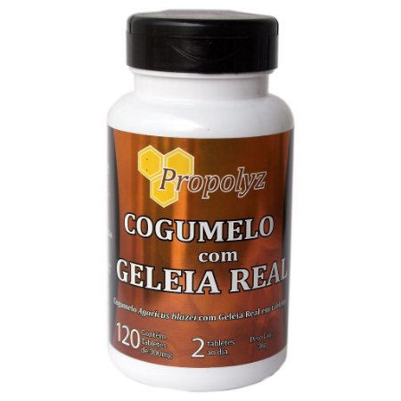 Cogumelo c/ Geléia Real 120tabs 300mg Duom