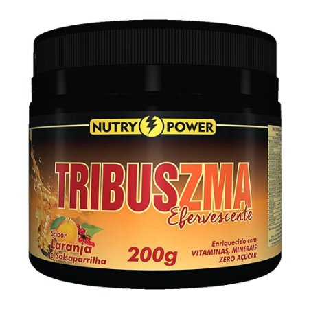 Tribus ZMA 200g Sabor Laranja Nutry Power
