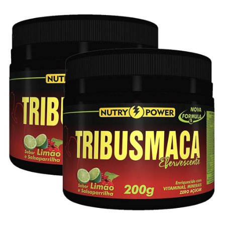 Kit 2 Und Tribus Maca 200g Sabor Limão Nutry Power